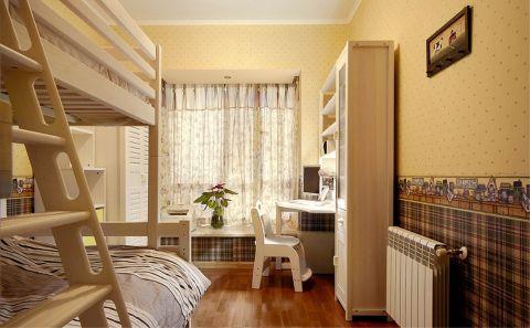 儿童房窗帘田园风格装修设计图片