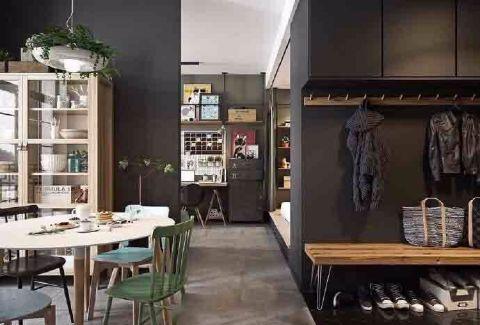 餐厅走廊北欧风格装饰图片