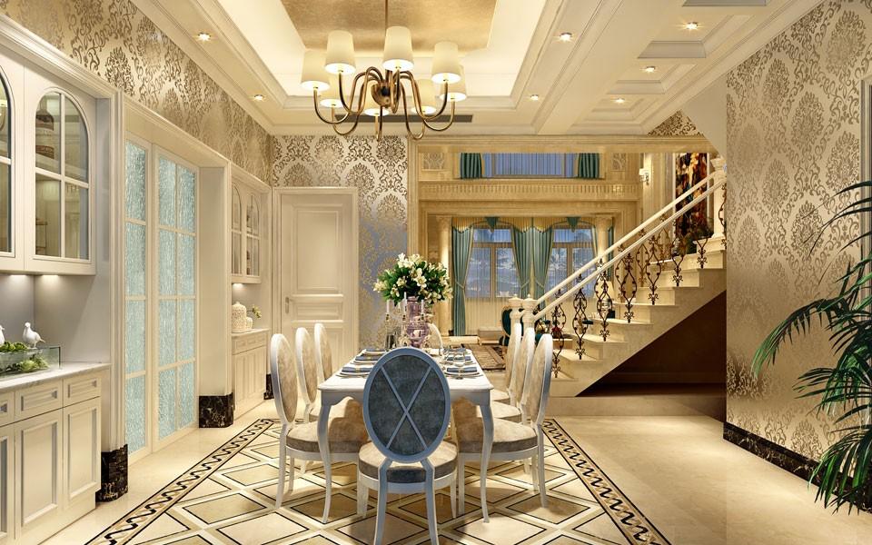 4室4卫3厅370平米欧式风格