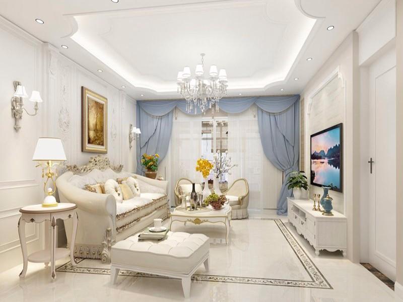 3室2卫2厅105平米简欧风格