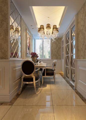 餐厅地砖欧式风格装饰图片