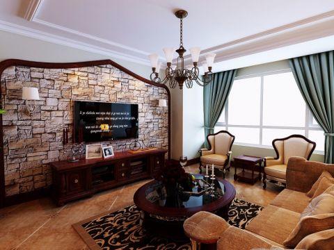 新古典风格140平米四室两厅新房装修效果图