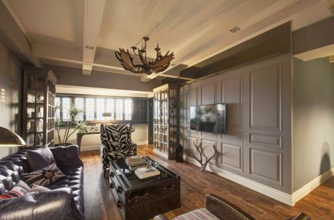 美式风格260平米复式新房装修效果图