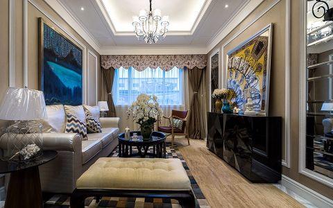 现代风格100平米两室两厅新房装修效果图