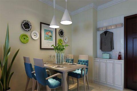 餐厅照片墙现代简约风格装修效果图