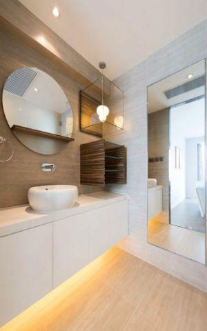 卫生间洗漱台现代简约风格装饰效果图