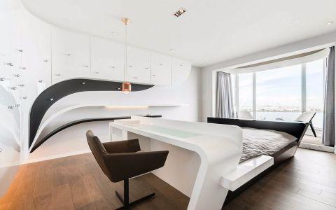 卧室地板砖现代简约风格装修图片