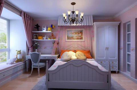 卧室飘窗地中海风格装饰效果图