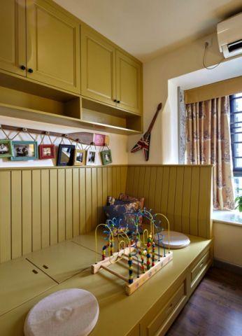儿童房榻榻米混搭风格装饰设计图片