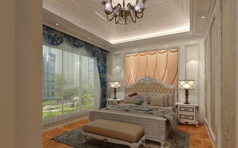 卧室窗帘欧式风格装潢设计图片