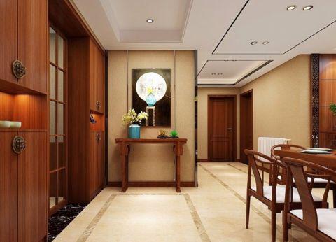 餐厅走廊现代中式风格装饰图片