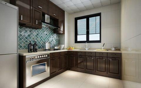 厨房背景墙简约风格装潢效果图