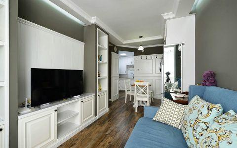 美式风格90平米公寓新房装修效果图