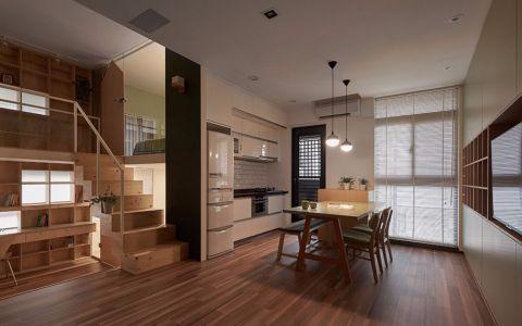 简约风格60平米复式新房装修效果图