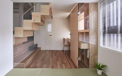客厅楼梯简约风格装饰图片