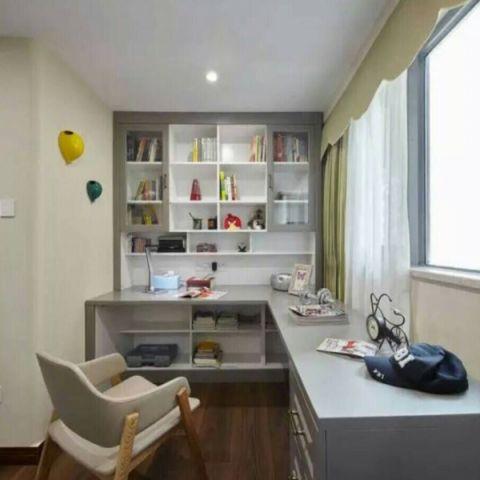 儿童房博古架混搭风格装潢设计图片