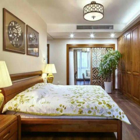 卧室吊顶混搭风格效果图