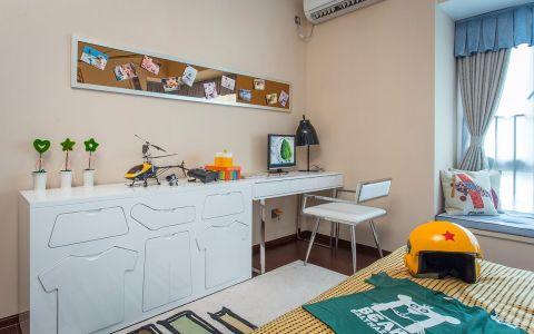 儿童房书桌现代简约风格装潢图片