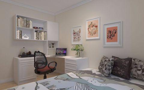 卧室书桌简约风格装饰效果图
