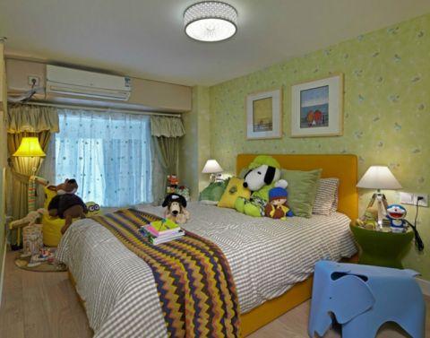 儿童房照片墙现代简约风格装修图片