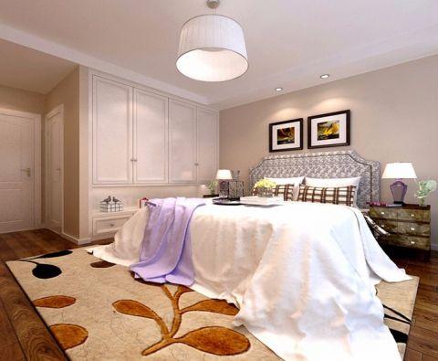 卧室照片墙美式风格装饰设计图片