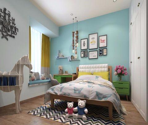 儿童房照片墙简约风格装修图片
