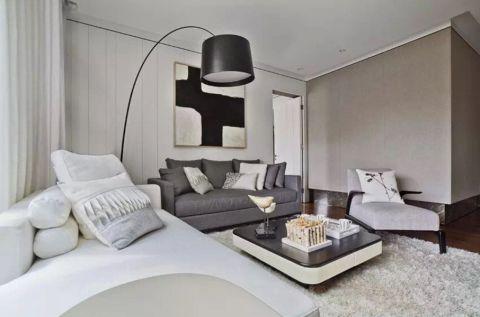 客厅灯具现代简约风格装修效果图