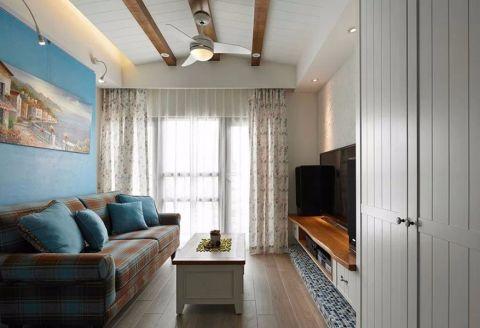 地中海风格100平米公寓新房装修效果图