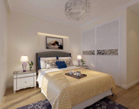 卧室衣柜新中式风格装饰图片
