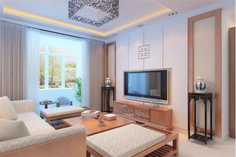 简中风格112平米楼房新房装修效果图