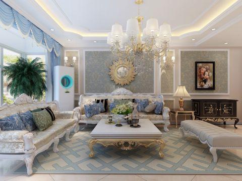 欧式风格170平米四室两厅室内装修效果图