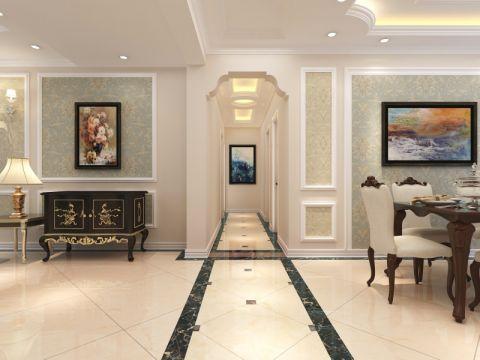 餐厅走廊欧式风格装潢设计图片