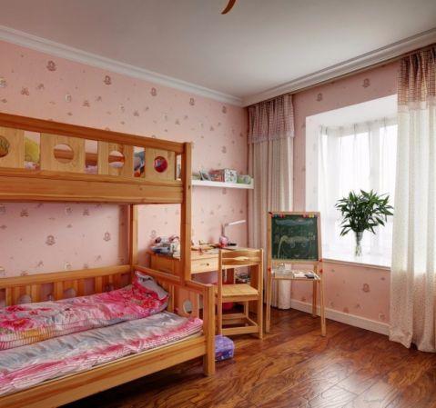 儿童房窗帘欧式风格装修效果图