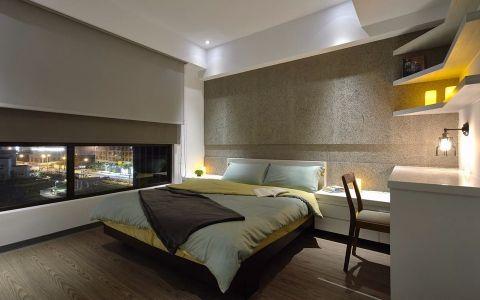 卧室床现代简约风格装饰效果图