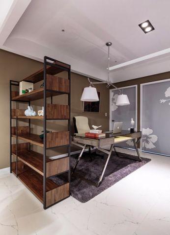 书房博古架现代简约风格装饰设计图片