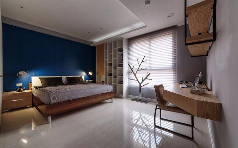 卧室窗帘现代简约风格装潢设计图片