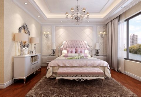新古典风格320平米别墅室内装修效果图