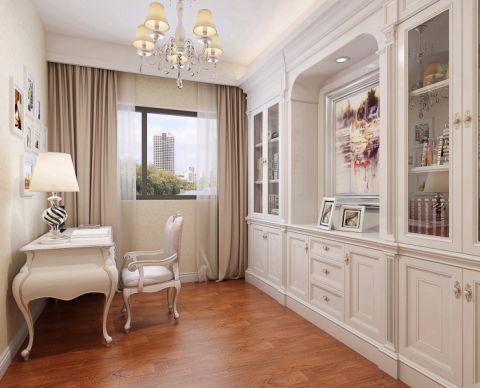 书房书桌新古典风格装修设计图片