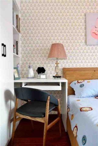 儿童房背景墙北欧风格装饰效果图