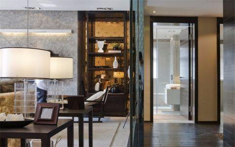 客厅背景墙中式风格装饰设计图片