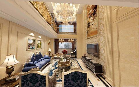 简欧风格330平米别墅新房装修效果图