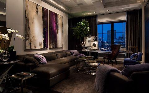 后现代风格158平米四室两厅室内装修效果图
