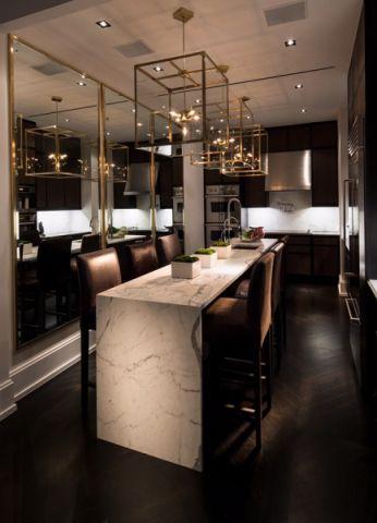 餐厅吧台后现代风格装饰设计图片
