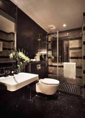 卫生间地板砖现代风格装修效果图