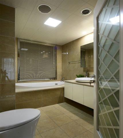 卫生间吊顶简欧风格装饰效果图