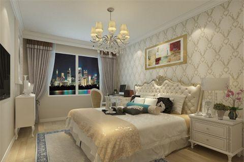 卧室床头柜欧式风格装修设计图片