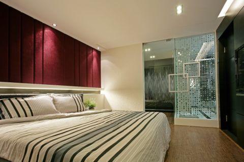 卧室推拉门现代风格装潢图片
