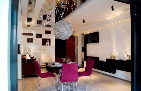 餐厅现代简约风格装修效果图