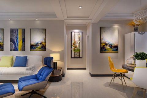 客厅走廊简单风格装潢设计图片