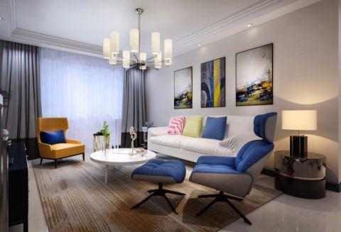 客厅窗帘简单风格装饰效果图